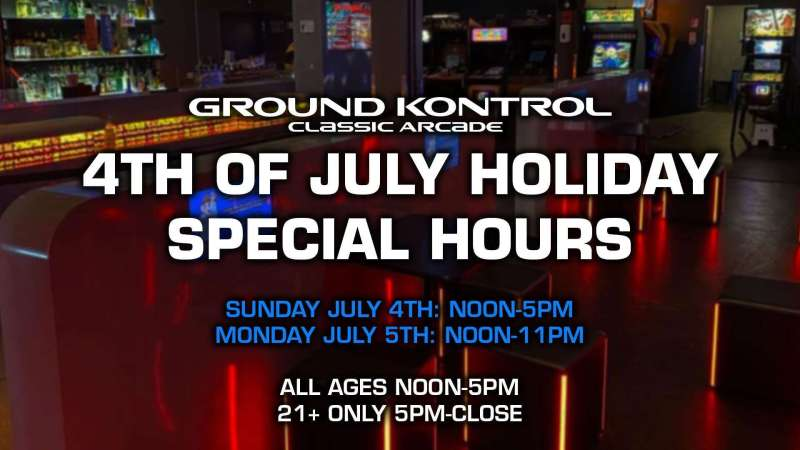 Image for SPECIAL HOURS: Fourth of July Holiday