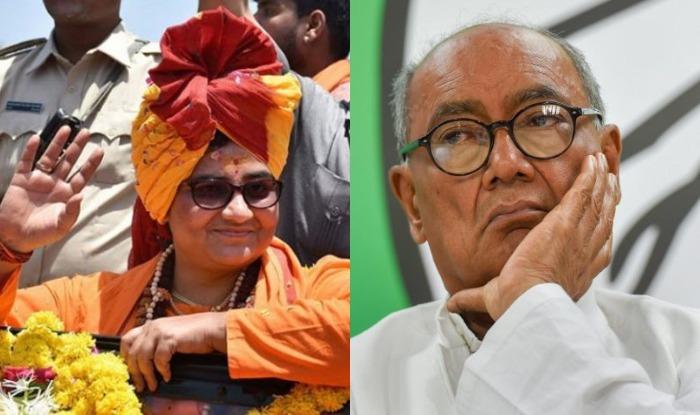 Lok Sabha Election 2019 : Bhopal Election Results 2019 BJP Sadhvi Pragya Thakur Congress Digvijay Singh