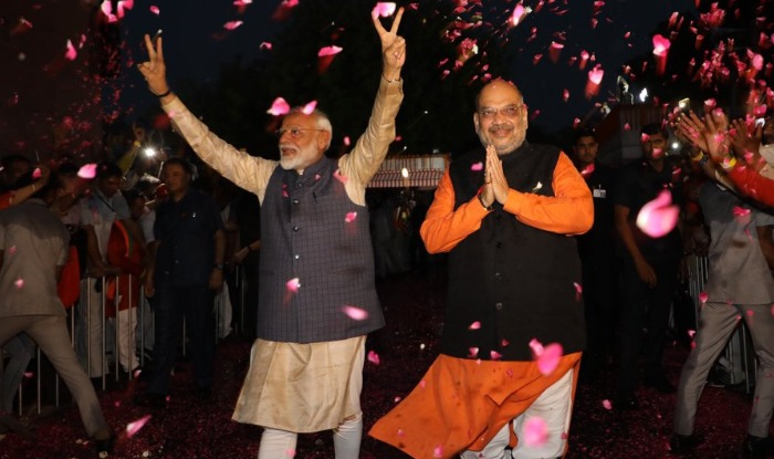 lok sabha election results 2019 : Prime minister naredra modi BJP wins bjp chief amit shah
