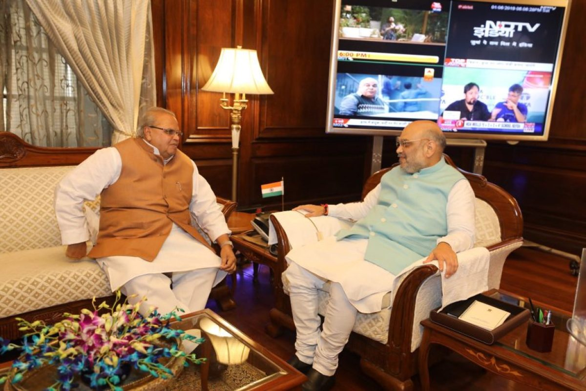 amit shah,s first visit to j&k