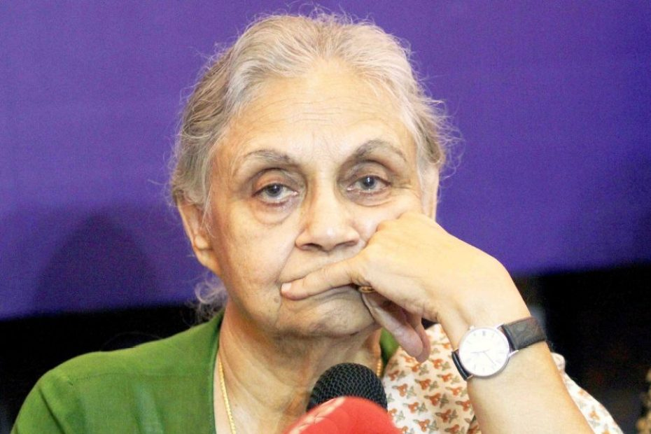 Sheila dikshit Ex chief minister Sheila Dikshit passes away new delhi congress leader