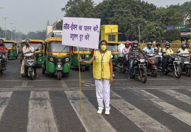 odd even delhi