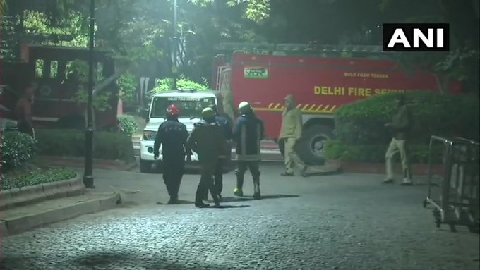 fire broke out at Prime Minister's residence at 7 Lok Kalyan Marg, New Delhi