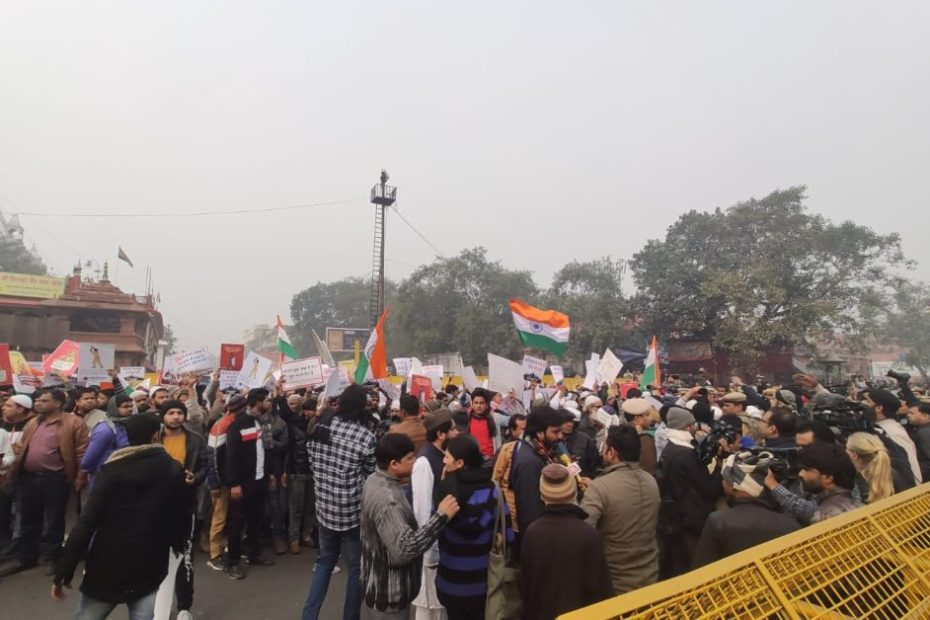CAA PROTEST DELHI