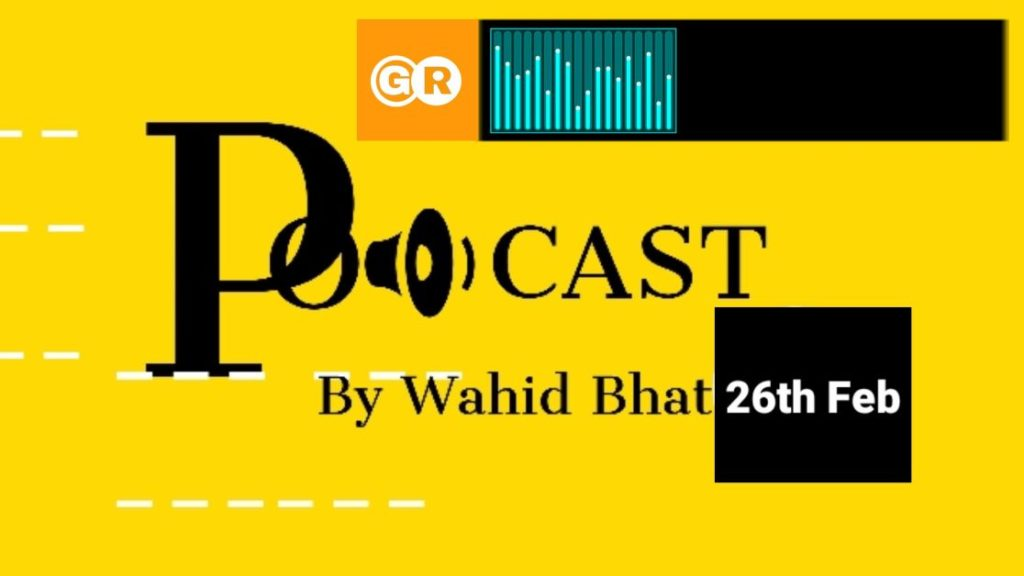 Audio News Podcast India