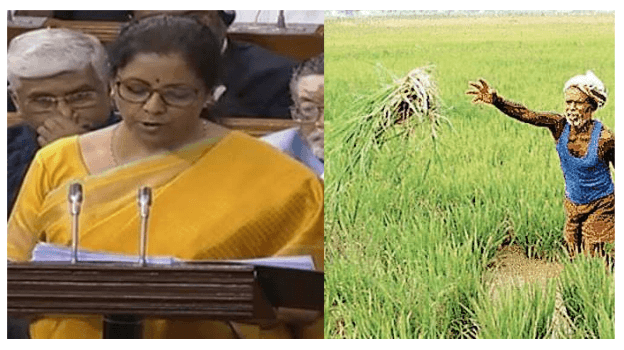 Budget 2020 : वित्त मंत्री ने किसानों के लिय की ये बड़ी घोषणाएं