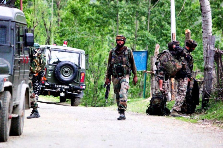 Handwara 5 Security Personel Killed