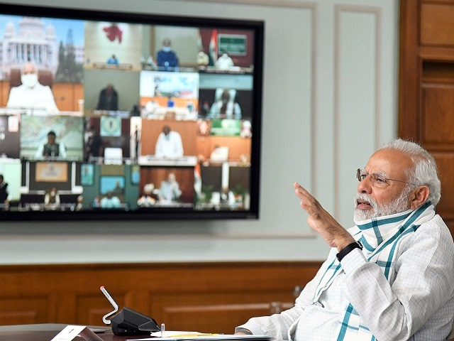 Coronavirus lockdown in India PM Modi Conference states CM