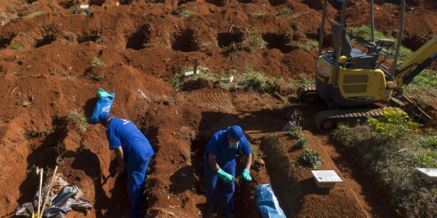 coronavirus Brazil: Old tombs being emptied like rooms in Brazil due to covid 19