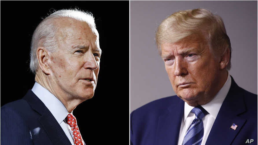 America President Donald Trump Joe Biden presential elections coming ahead on 3rd November