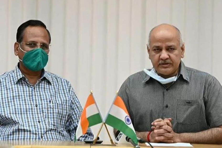 Manish Sisodiya meets anil Baijal
