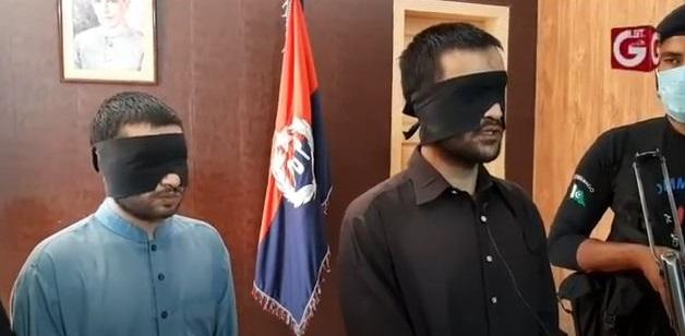 Indian spy arrested in pakistan