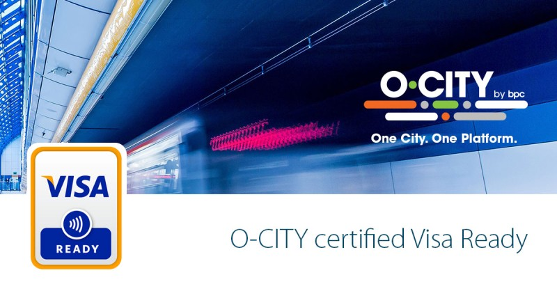 O-CITY joins the Visa Ready for Transit program to drive contactless payments for mass transit systems globally, O-CITY, contactless payments, COVID-19, BPC,
