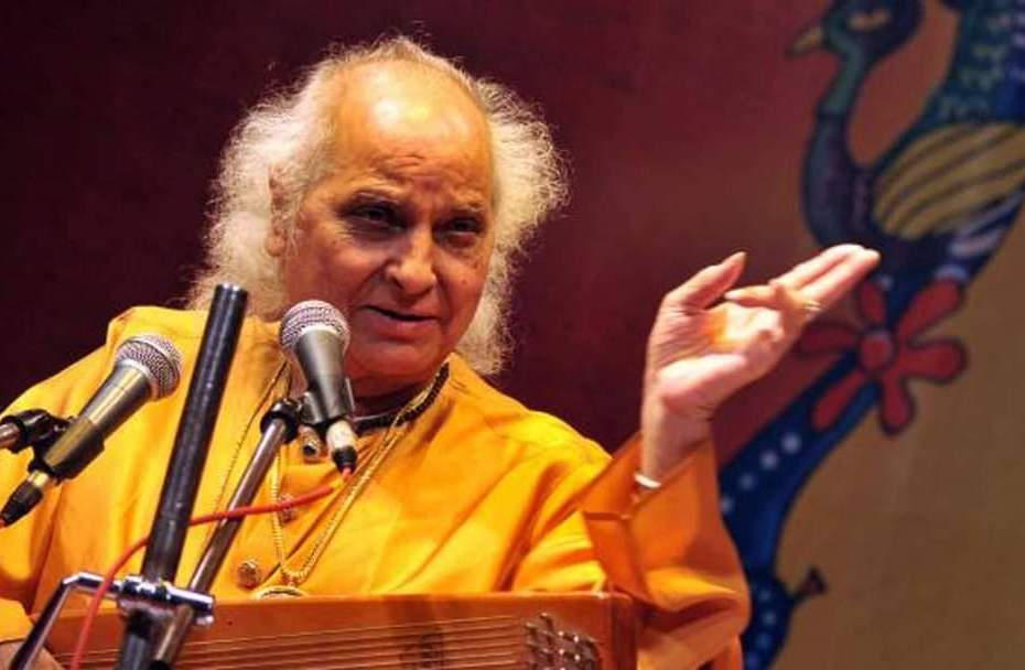 pandit jasraj: renowned classical singer pandit jasraj dies in america