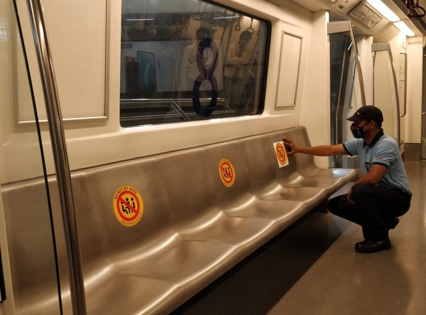 Metro Starting from 7 september what are the rules