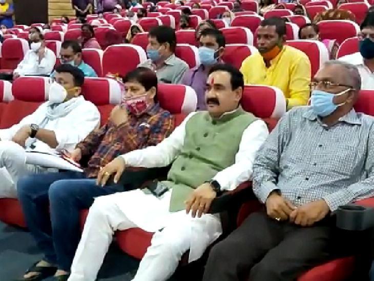 मध्य प्रदेश : गृह मंत्री नरोत्तम मिश्रा ने कहा-'मैं कभी मास्क नहीं पहनता, इससे क्या होता है'...