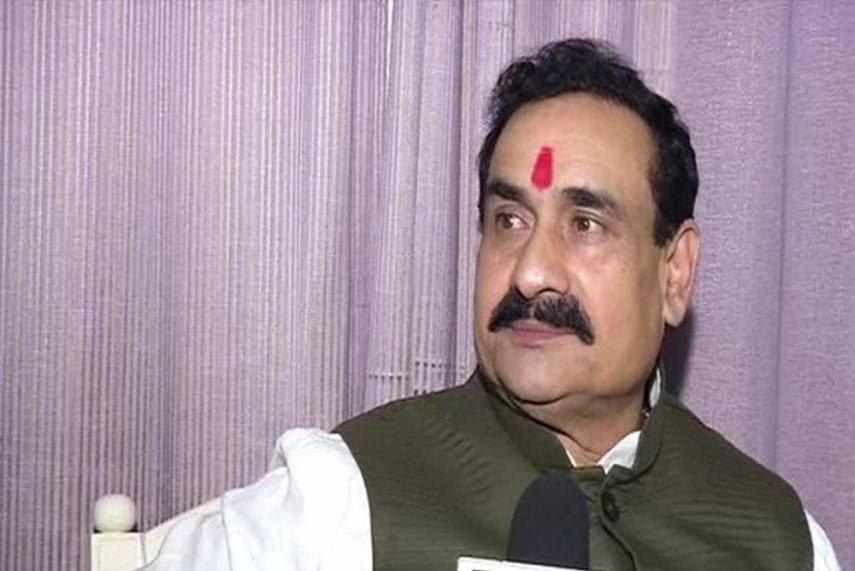 Madhya Pradesh Home Minister Narottam Mishra on congress party