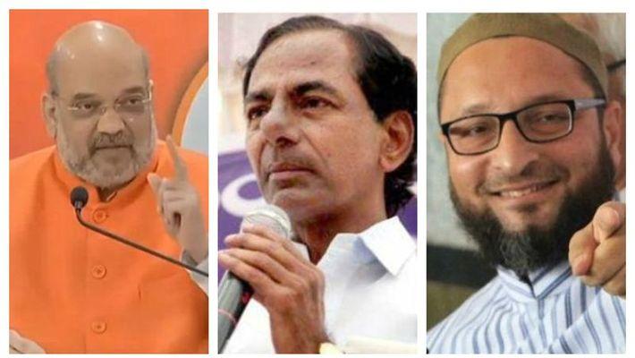Hyderabad Election Result : BJP को लग सकता है तगड़ा झटका, जानें AIMIM का हाल