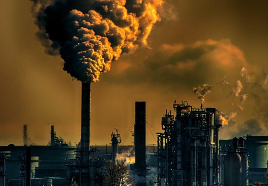 जीवाश्म ईंधन से जलवायु परिवर्तन पर असर