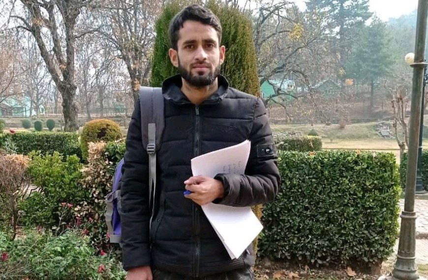 Kashmir: 27-year-old researcher bags 'International Young Economist Award 2021