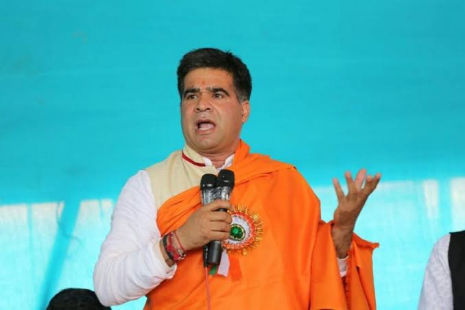 'Congress is a party of terrorists and Pakistanis': Ravinder Raina