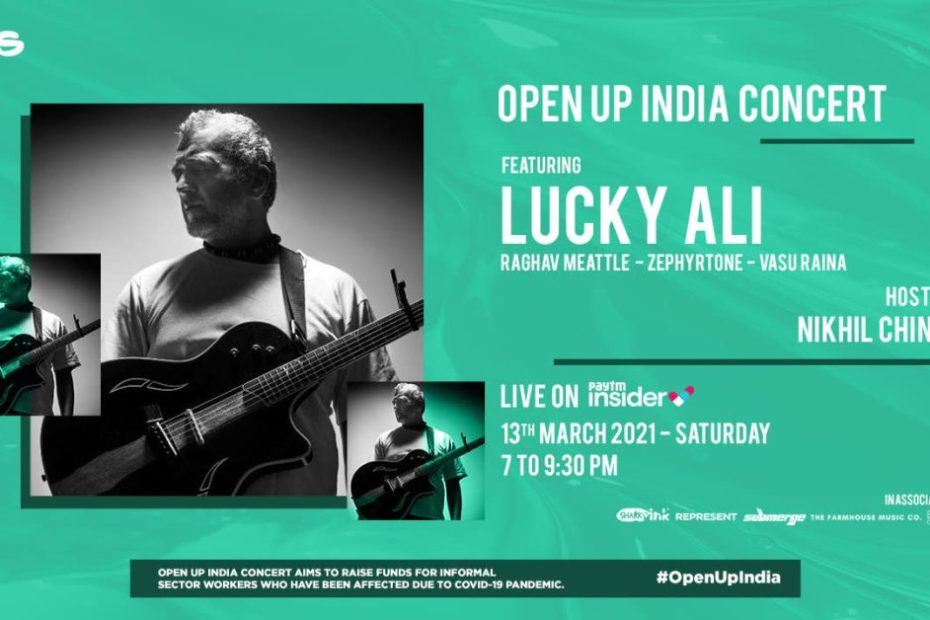 Lucky Ali, Nikhil Chinapa join UNDP's 'Open Up India' Music Concert to support and raise funds for India's informal sector workers