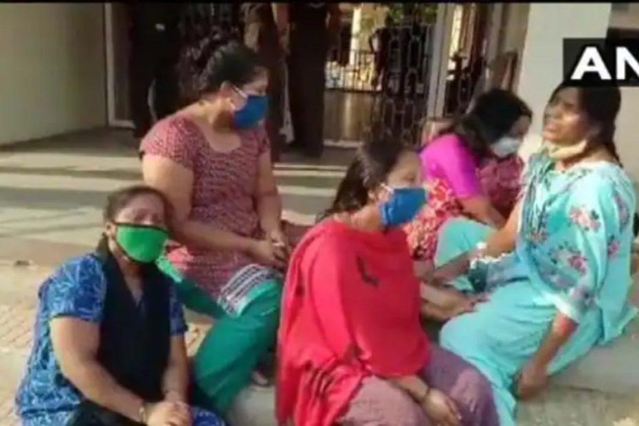 Karnataka: Shortage of oxygen 24 Covid19 patients died in Chamarajanagar district कर्नाटक ऑक्सीजन की कमी से 24 कोरोना मरीजों की मौत