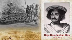 raja ram mohan roy Sati Pratha