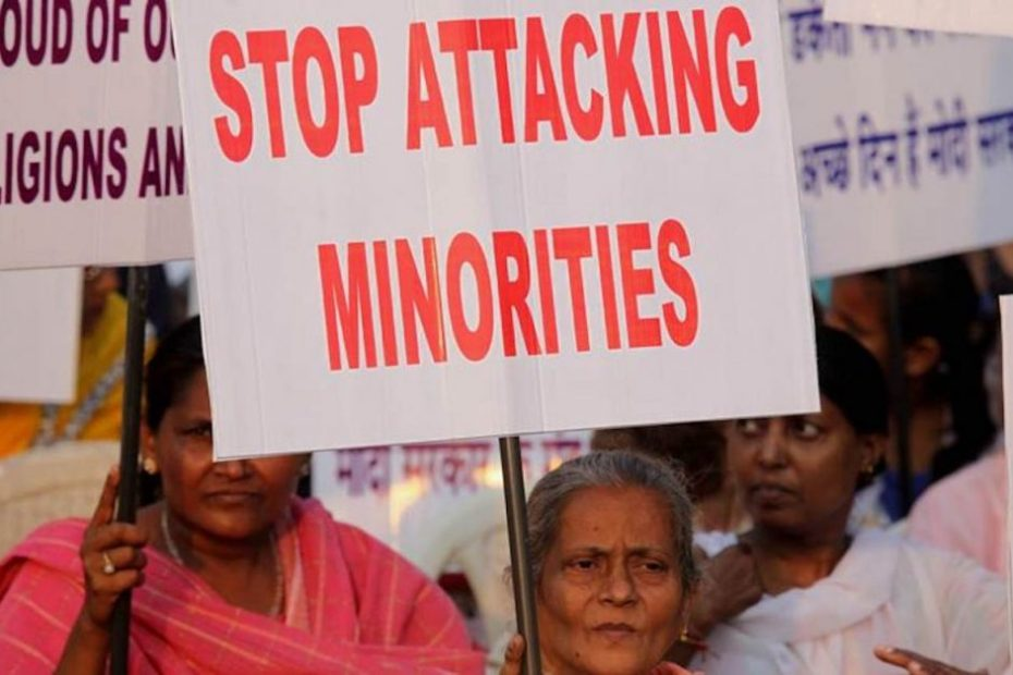 """""""WAKE UP INDIA"""" a Protest Rally against the Violence & oppression on Minorities, Churches, Nun and Christians organize by Christian reform united people association along with Other Organizations, Churches and Institutions at Azad Maidan on Friday. Express photo by Prashant Nadkar, Mumbai, 27/03/2015"""