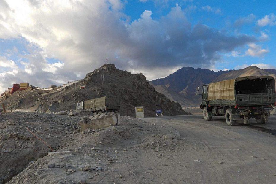 In Demchok Ladakh