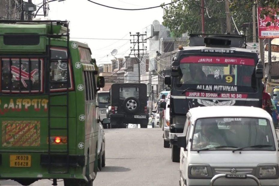 Jammu: Janipur-Amphalla road