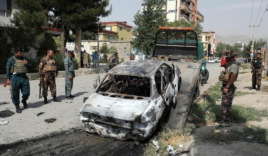 Rocket attack on Afghanistan's capital;
