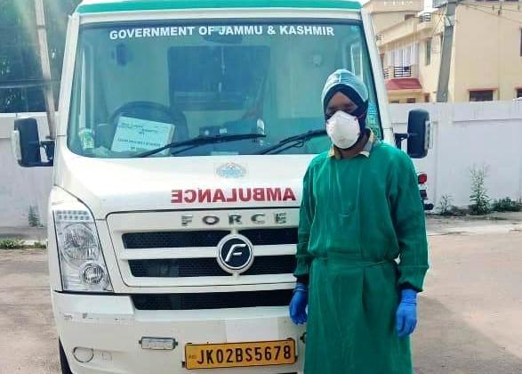 Meet Jarnail ambulance driver