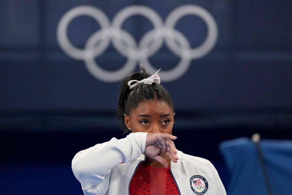 Simone Biles exits Olympic