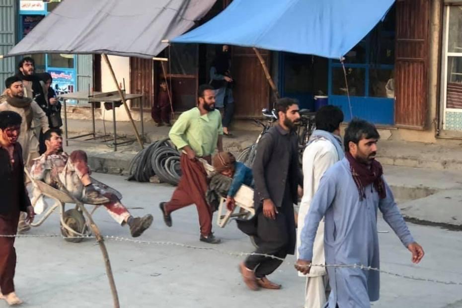 Explosions near Kabul airport