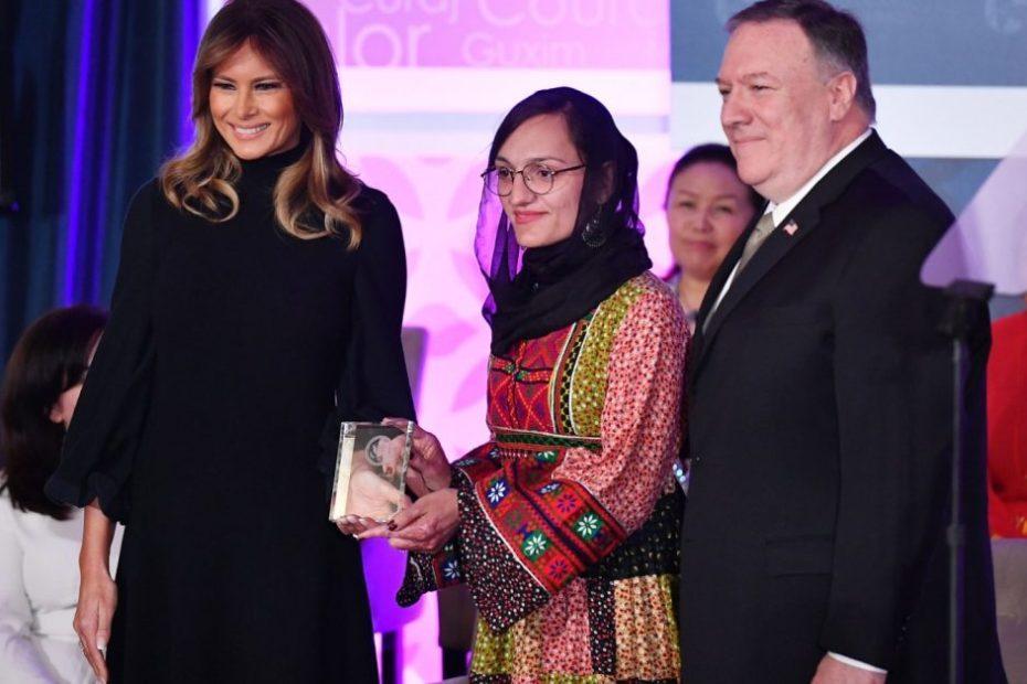 Afghanistan's first female mayor