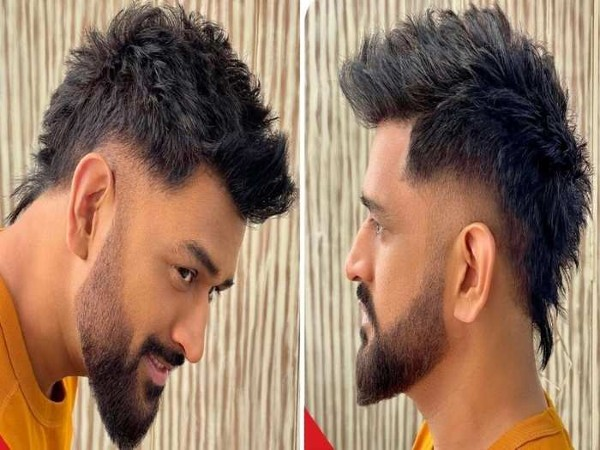 MS Dhoni in new look