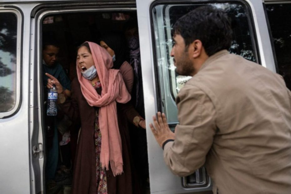 What is happening in Kabul after Taliban control