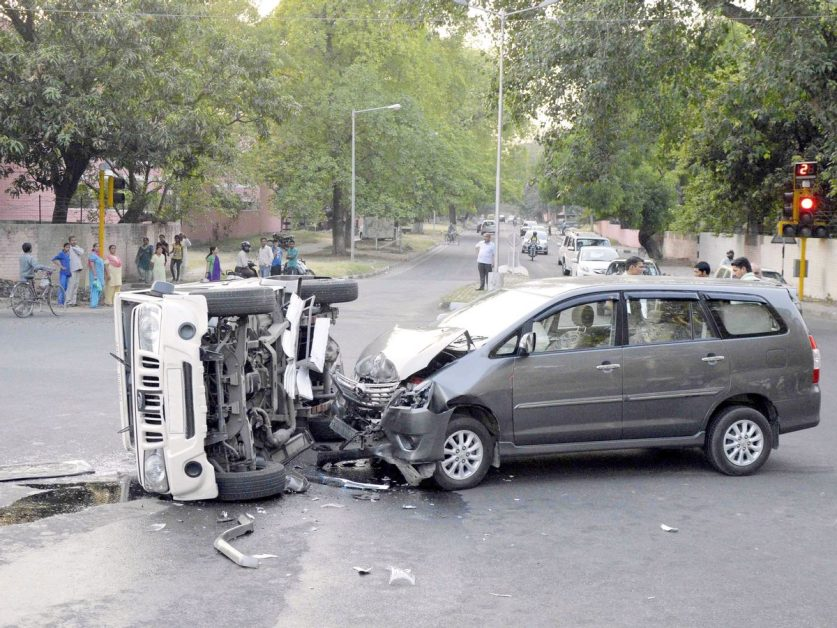 Road accident in 2020: 1.20 lakh people died