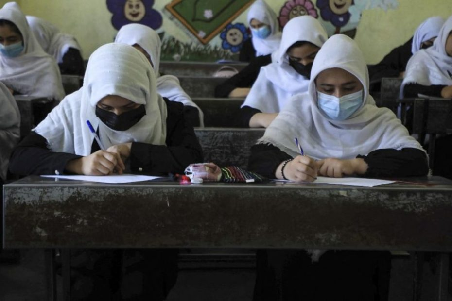 Taliban reopen schools for Afghan boys, girls barred