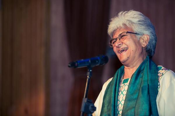 Kamla Bhasin who popularised the 'Azadi' slogan in India