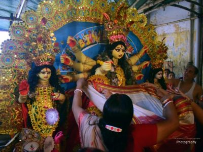 Durga Puja in Traditional Bonedi