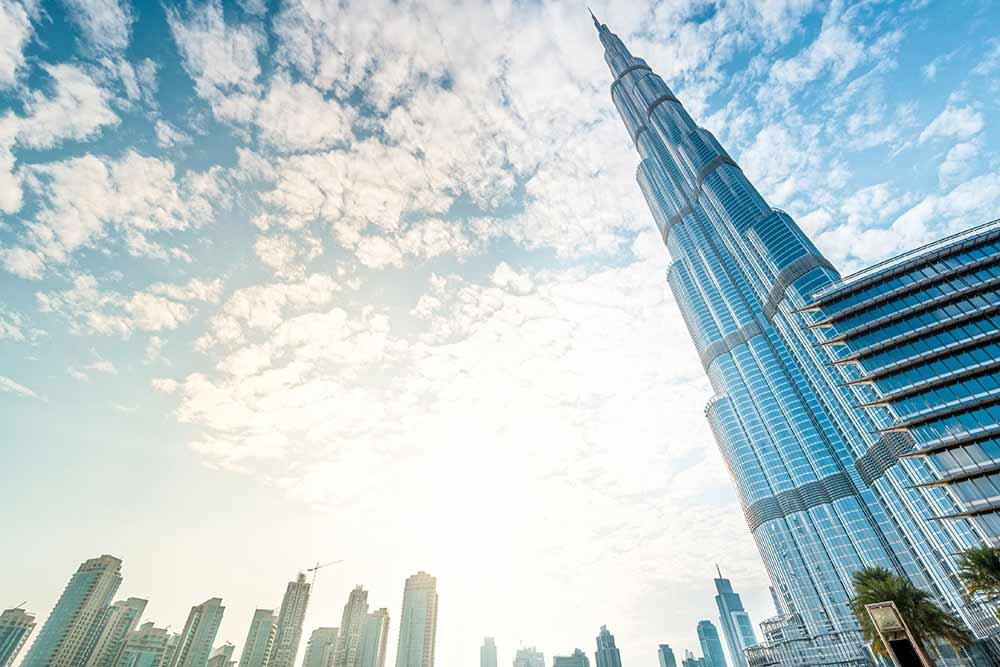 Burj Khalifa, the tallest building on the planet.