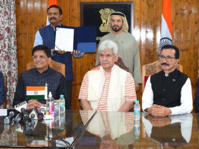 Dubai will make huge investment in Kashmir: Govt