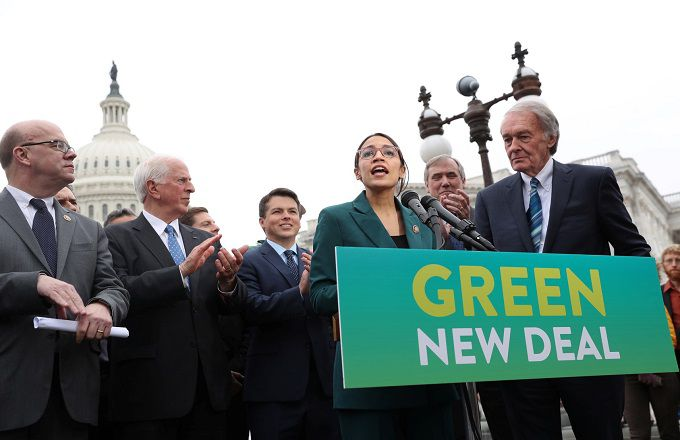 What is the Green New deal