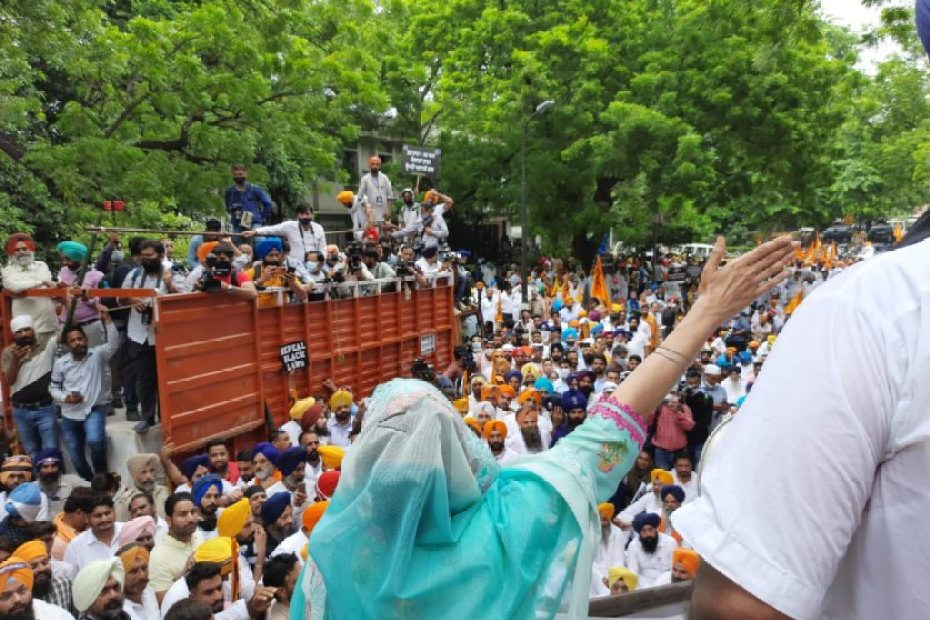 akali dal and farmers protest