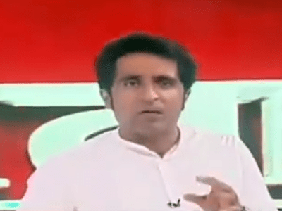Pradeep Bhandari who abused farmers on live tv show