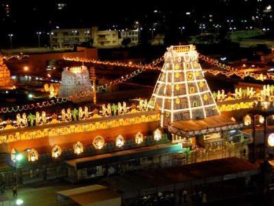 Tirupati mandir online booking