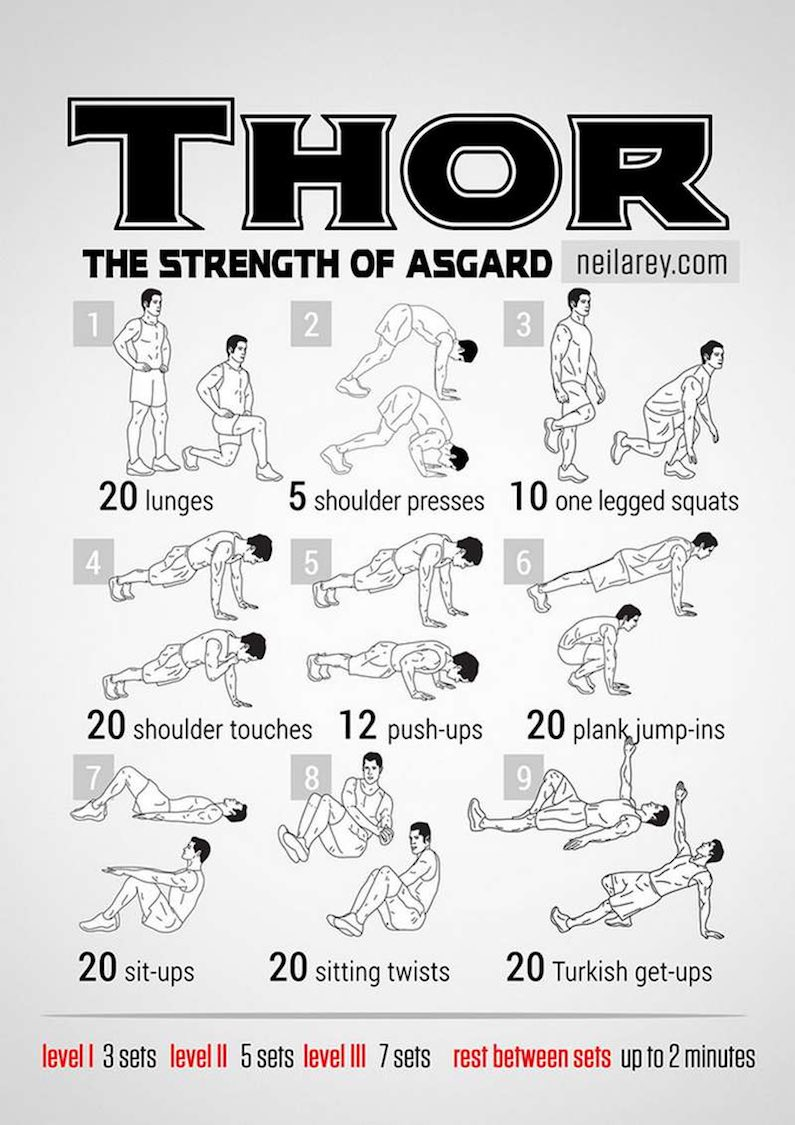 workout-routine-avengers-thor