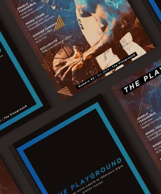 the playground 3 spécial Europe couverture webzine basketball